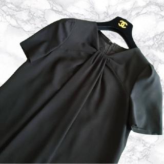 ANAYI - ❇️ANAYI❇️美しいデコルテラインのブラックワンピース