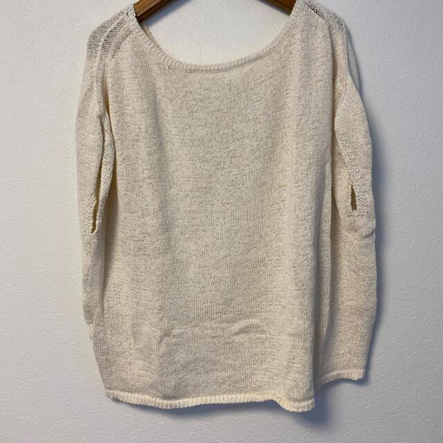IENA(イエナ)のIENA ノースリーブニット ホワイト レディースのトップス(ニット/セーター)の商品写真