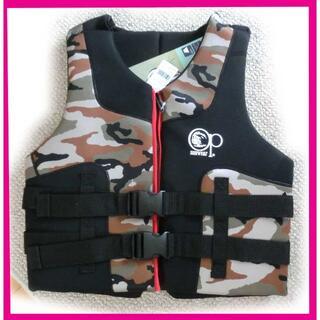 新品 OP ライフジャケット XL メンズ 大人 フローティングベスト