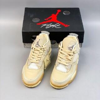 ナイキ(NIKE)のOff-White x Air Jordan 4 Retro SP WMNS(スニーカー)