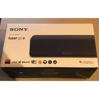 SONY - ソニーSRS-HG10 B Bluetoothスピーカー  ハイレゾ対応 黒