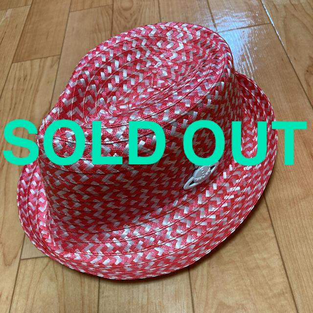 Vivienne Westwood(ヴィヴィアンウエストウッド)の【Vivienne Westwood】ヴィヴィアンウエストウッド/ストローハット レディースの帽子(麦わら帽子/ストローハット)の商品写真