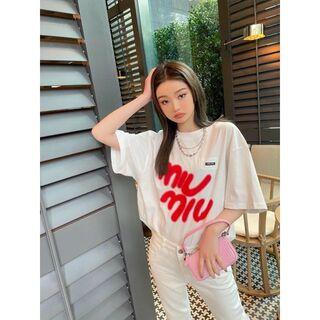 miumiu - 最終値下げMIUMIU半袖のtシャツ