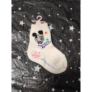 ミッキーマウス(ミッキーマウス)のミッキーマウス 靴下 11~12 ソックス(靴下/タイツ)