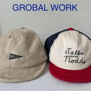 グローバルワーク(GLOBAL WORK)のグローバルワーク GLOBAL WORK 子ども帽子 セット(帽子)