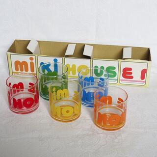 ミキハウス(mikihouse)の訳アリ・未使用 mikihouse ミキハウス グラス コップ カラフル(グラス/カップ)