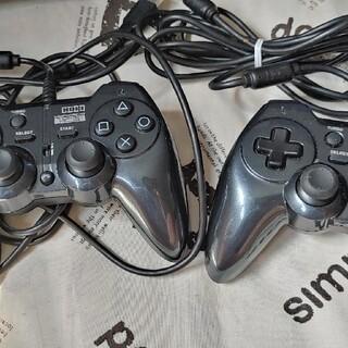 PlayStation3 - 【即決】PS3コントローラー ホリパッド3 ターボプラス ブラック  3m US