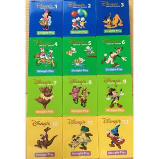 ディズニー英語システム ストレートプレイ DVD 12巻セット