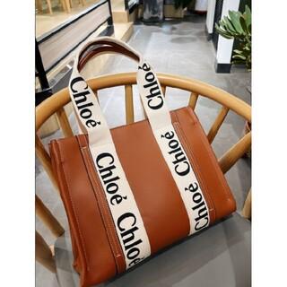 Chloe - 21ssChloe クロエ woody Tote Bag Mサイズ トートバッグ