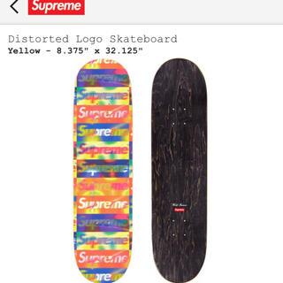 シュプリーム(Supreme)のSupreme Distorted logo skateboard(スケートボード)