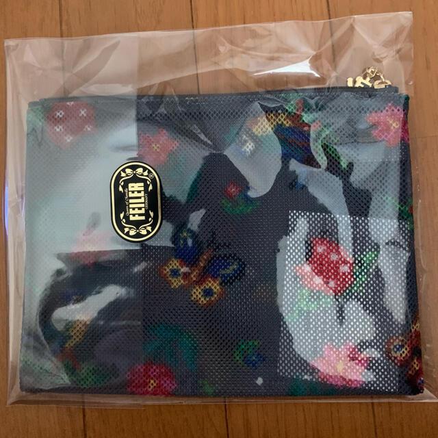 FEILER(フェイラー)のフェイラー ハイジメッシュポーチ 小 レディースのファッション小物(ポーチ)の商品写真
