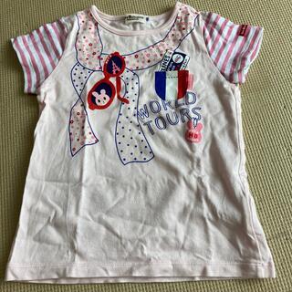 ホットビスケッツ(HOT BISCUITS)のワールドツアーT100(Tシャツ/カットソー)