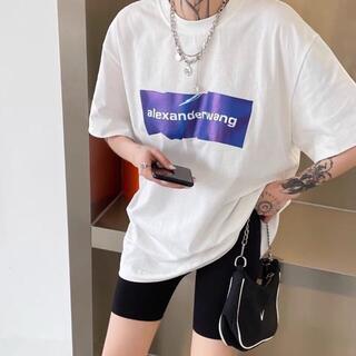 Alexander Wang - 限定【Alexander Wang】半袖のtシャツ