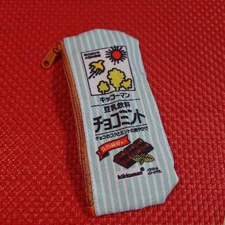キッコーマン(キッコーマン)の未使用品✨豆乳ポーチ チョコミント(ポーチ)