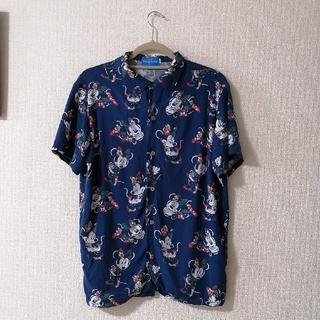 ディズニー(Disney)のミニーアロハシャツ(シャツ/ブラウス(半袖/袖なし))