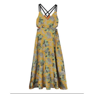 Ameri VINTAGE - Ameri VINTAGE BERRY JACQUARD DRESS ワンピース