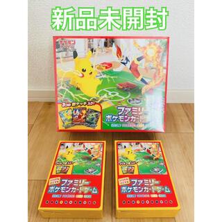 ポケモン(ポケモン)のポケモンファミリーカードゲーム いつでもどこでもファミリーポケモンカードゲーム3(Box/デッキ/パック)
