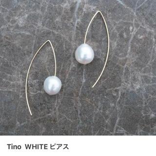 新品 maaya Tino WHITE ピアス MAAYA
