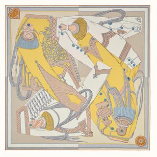 Hermes - 【新品未使用】エルメス カレ ウォッシュ 90 《ズアヴとドラゴン》