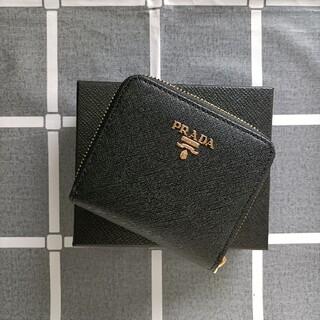 PRADA - 綺麗☆黒♥二つ折り財布 プラダ コインケース
