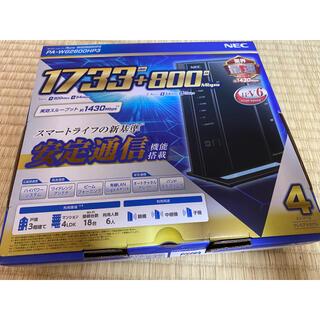エヌイーシー(NEC)の無線LANルーター NEC PA-WG2600HP3(PC周辺機器)