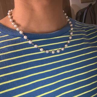 キャピタル(KAPITAL)のパールネックレス pearl necklace (ネックレス)