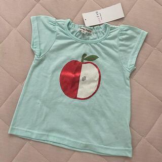 エニィファム(anyFAM)のanyFAM  りんごTシャツ(Tシャツ/カットソー)