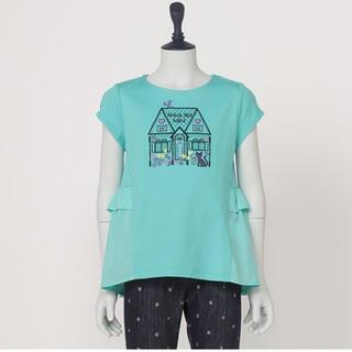 ANNA SUI mini - 【ご専用】ANNA SUImini 140【新品】♡ハウス刺繍♡