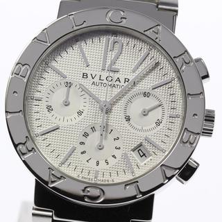 ブルガリ(BVLGARI)の☆美品 ブルガリ ブルガリブルガリ BB38SSCH メンズ 【中古】(腕時計(アナログ))