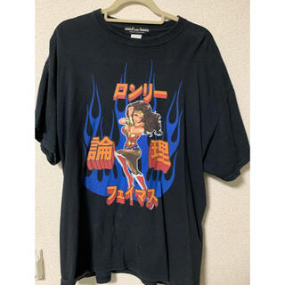 COMME des GARCONS - Lonely論理 大阪popup限定品 worldfamousコラボTee