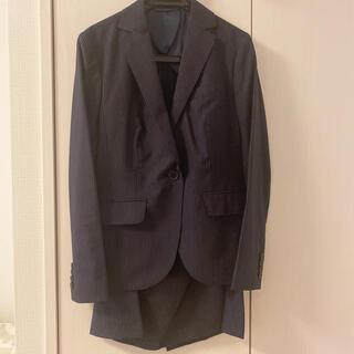 スーツカンパニー(THE SUIT COMPANY)のTHE SUIT COMPANY スーツ ストライプ リクルート スカートスーツ(スーツ)