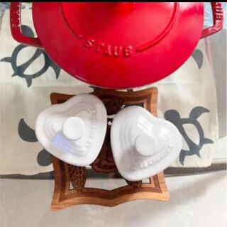 ルクルーゼ(LE CREUSET)のル・クルーゼ ココット 2つセット 新品未使用(食器)