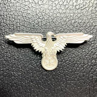 ドイツ ジャーマンイーグル 鉄十字 バッジ シルバー WW2(その他)