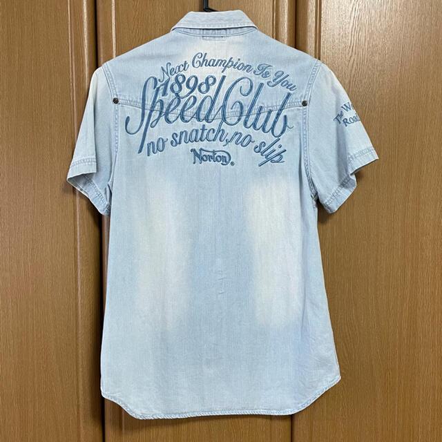 Norton(ノートン)のNorton ノートン デニム 半袖シャツ メンズのトップス(シャツ)の商品写真