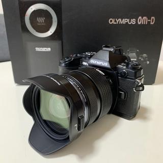 OLYMPUS -  【極美品】OM-D E-M1ボディ 12-40mmF2.8PRO