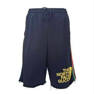 グッチ(Gucci)のグッチ  ショートパンツ  ウェブ ストライプ プリント 651727(ショートパンツ)