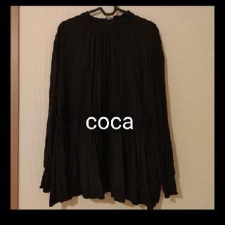 coca ブラウス🤍