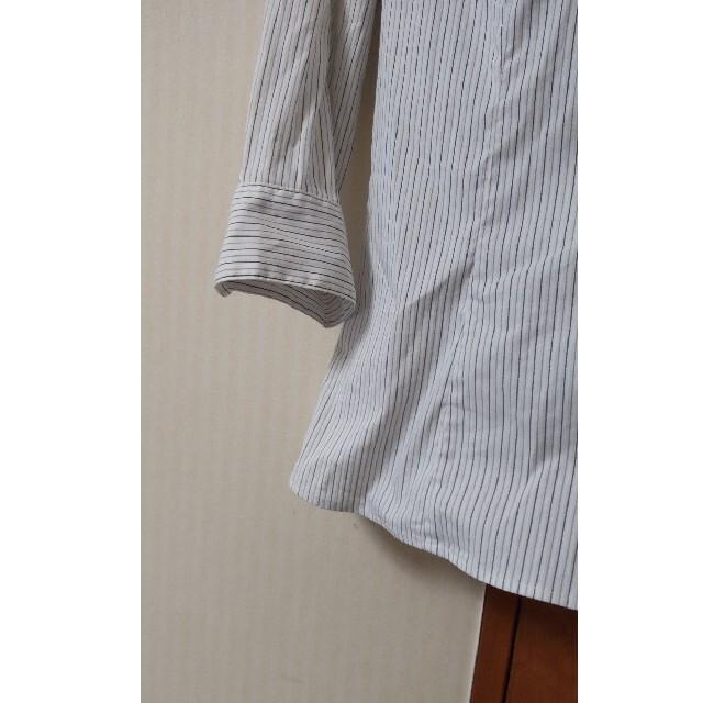 ニッセン(ニッセン)の試着のみ ニッセン 七分袖ストレッチシャツ STYLE BASIC レディースのトップス(シャツ/ブラウス(長袖/七分))の商品写真