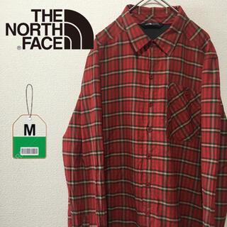 THE NORTH FACE - ノースフェイス THE NORTH FACE チェックシャツ アウトドア 古着