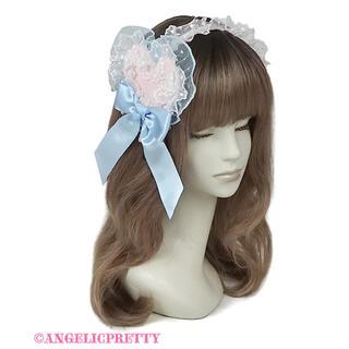 アンジェリックプリティー(Angelic Pretty)のAngelic Pretty トッピングハートカチューシャ(カチューシャ)