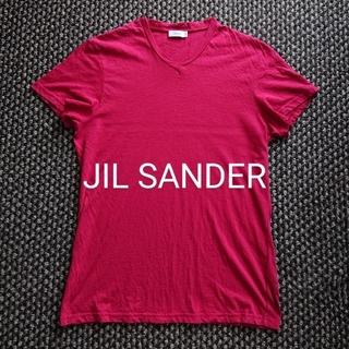 Jil Sander - JIL SANDER VネックTシャツ ジルサンダー プラダ グッチ セリーヌ
