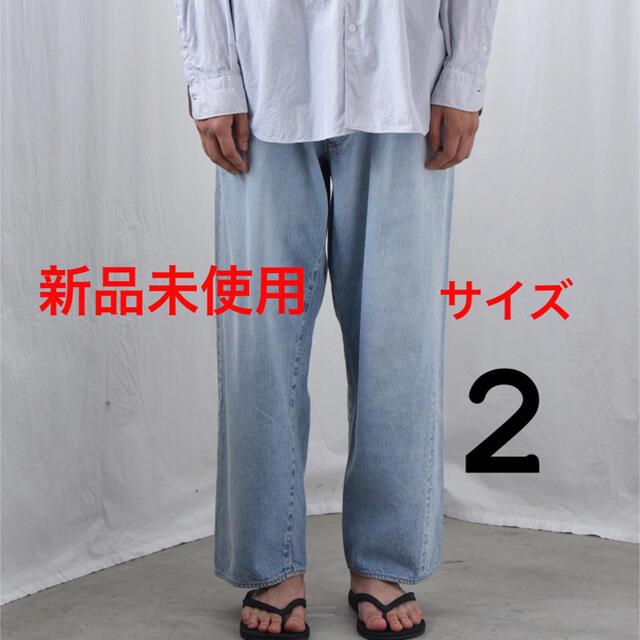 COMOLI(コモリ)のコモリ 21AW デニム5Pパンツ 新品未使用 サイズ2 メンズのパンツ(デニム/ジーンズ)の商品写真