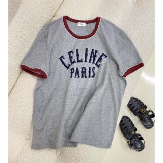 celine - 【CELINE】コットン ジャージー Tシャツ