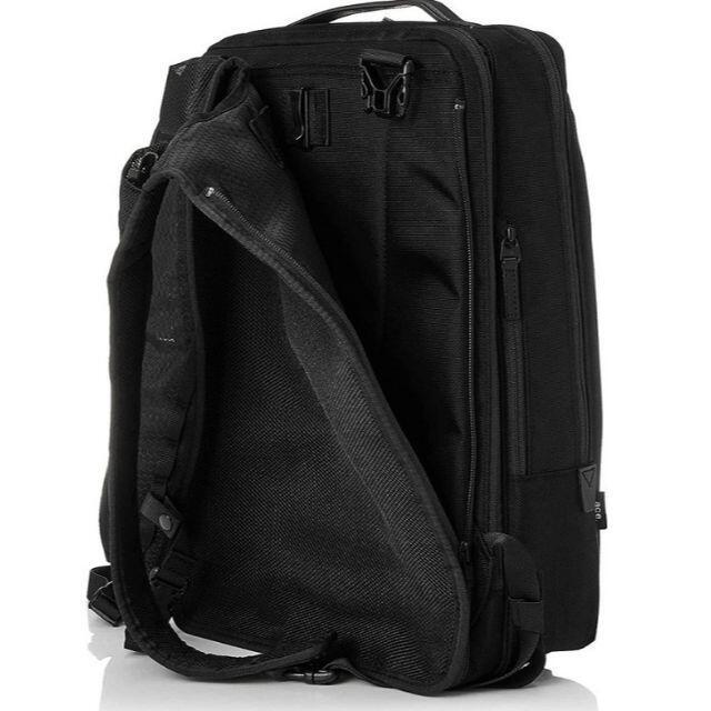 ACE GENE(エースジーン)の5,400円値引■エースジーン[WPパック]ビジネス リュックB4 16L 黒 メンズのバッグ(ビジネスバッグ)の商品写真