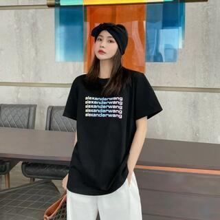 人気限定【Alexander Wang】半袖のtシャツ