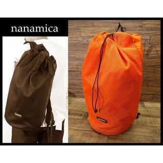 ナナミカ(nanamica)の新品 ナナミカ 20ss パッカブル リップストップ メッシュ デイパック ①(バッグパック/リュック)