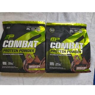 コストコ(コストコ)のコンバット 100% ホエイプロテイン 2袋5,44kg チョコレートミルク味(プロテイン)