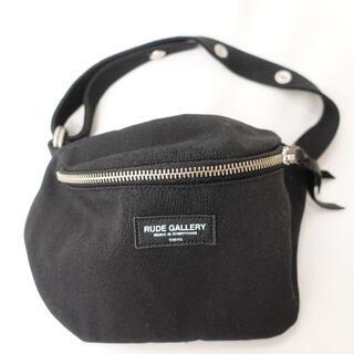 RUDE GALLERY - RUDE GALLERY ショルダーバッグ メンズ ブラック