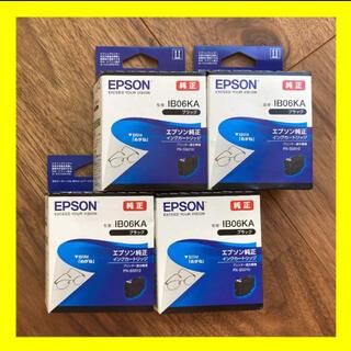 【純正新品】EPSON エプソン用めがねシリーズIB06KA 4本セット(PC周辺機器)