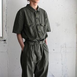 コモリ(COMOLI)のタグ付き outil pantalon belmont 21ss オールインワン(サロペット/オーバーオール)